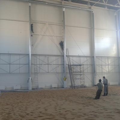 Монтаж металлоконструкций для баннеров
